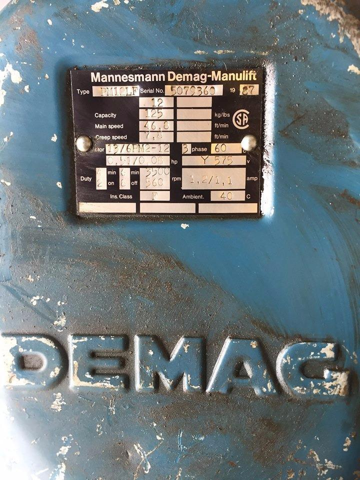 treuil demag 2