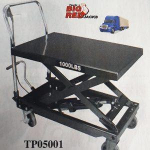 Table Élévatrice Neuve capacité 1000 lbs