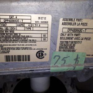 Laliberté Produits Industriels inc. ,Lampe Industriel 120 volt /347 volts